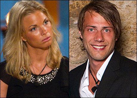 ENDTE BRÅTT: «Paradise Hotel»-paret Maren Edvardsen kallhovd (21) og Mats Figenschou Hansen (23) dampet om TV-serien over tre dager. Så var det brått slutt. Foto: TV3