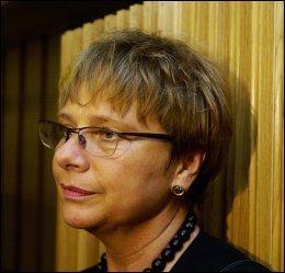 RESIGNERT: Sonja Sjøli fra Akershus Høyre sier hun ikke vil ta noen omkamp om datalagringsdirektivet etter nederlaget onsdag kveld. Foto: Scanpix