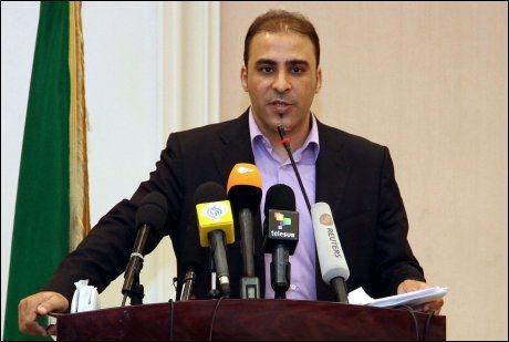 TALSMANN FOR MYNDIGHETENE: Mussa Ibrahim. Foto: AFP