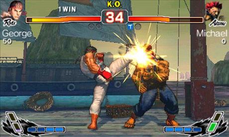 IMPONERER: «Super Street Fighter IV: 3D Edition» demonstrerer med all tydelighet at 3DS er en maskin som sparker fra seg. Foto: CAPCOM