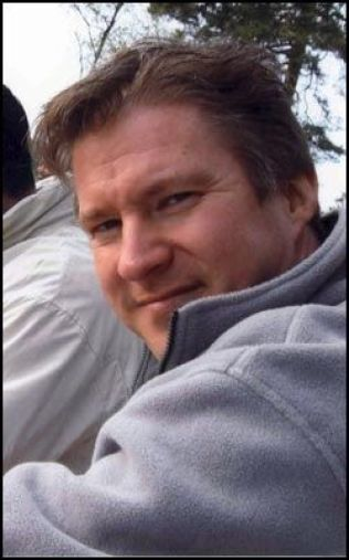 KNIVDREPT: IT-gründeren Vegard Bjerck (43). Foto: Privat