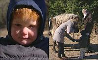 Her blir Holger (3) funnet etter ett døgn alene i skogen