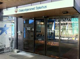 HER DØDE HUN: Diakonhjemmet sykehus på Smestad i Oslo. Foto: Marcus Husby
