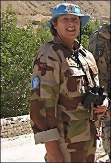 DREPT: Oberstløytnant Siri Skare (52). Foto: SCANPIX