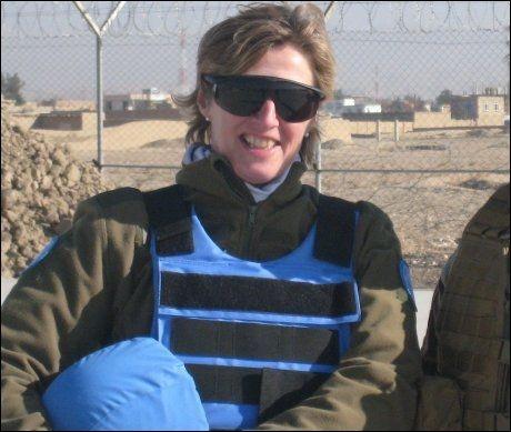 DREPT: Oberstløytnant Siri Skare (52) ble drept under angrepet på FN-basen fredag. Foto: PRIVAT