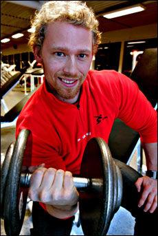 Gøran Paulsen er forsker og foreleser i styrketrening ved Norges idrettshøgskole. Foto: Nils Bjåland