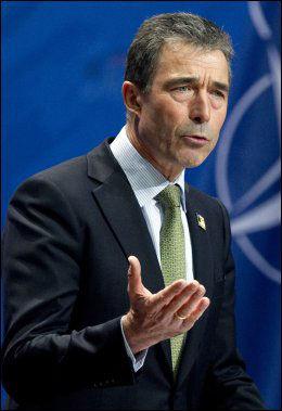 NATO-LEDER: Anders Fogh Rasmussen. Foto: AFP