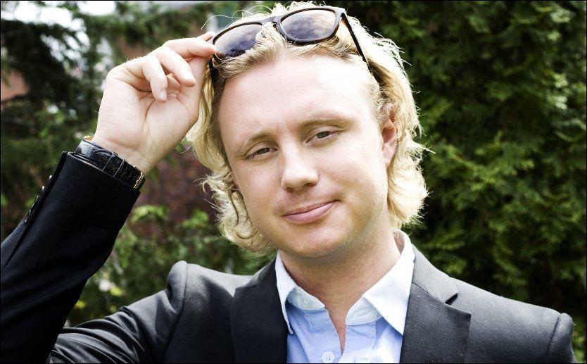 UTELIVSKONGE: Sverre Goldenheim, som har åpnet Twitter-profilen sin for gud og hvermann. Foto: TV3