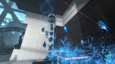 BLÅ GUFFE: Denne blå guffen gjør det mulig å hoppe høyere. Foto: VALVE