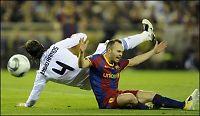 Iniesta må stå over Real-kamp