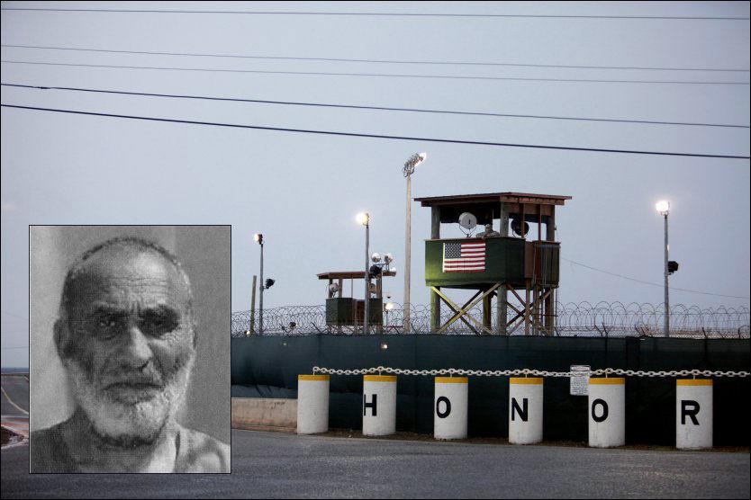 HOLDT FANGET: Nye Wikileaks-dokumenter gir innblikk i hvem de mange enkeltmenneskene som har sittet i Guantanamo-leiren, egentlig er. Foto: Thomas Nilsson/US Army