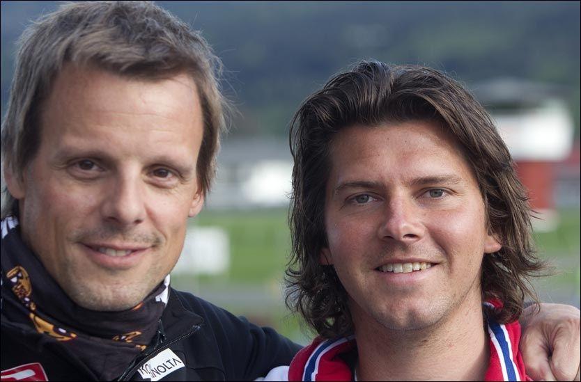 TRENERDUO: Alexander Stöck (t.v.) har fått med seg 27-åringen Magnus Brevig som assistent på hopplandslaget. Foto: Scanpix