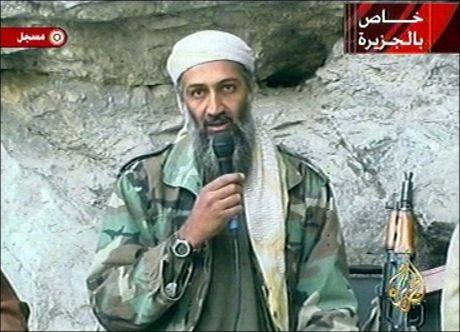 TATT AV DAGE: Osama bin Laden har i nesten 10 år unnslippet det amerikanske militæret, men søndag ble han drept. Foto: AP