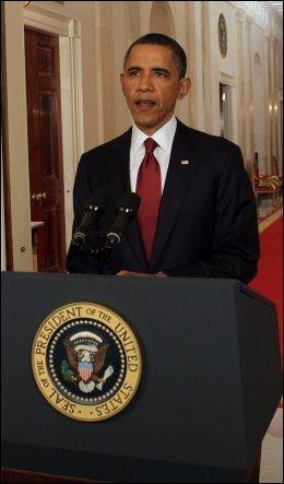 BEKREFTER AT OSAMA ER DØD: USAs president Barack Obama. Foto: AFP