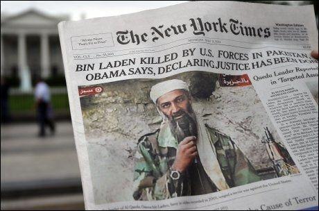 NØKTERN: The New York Times nøyer seg med å fortelle om hva som har skjedd. Foto: AFP