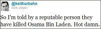 Slik lekket dødsnyheten om Osama bin Laden