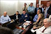 Her får Obama nyheter om Osama