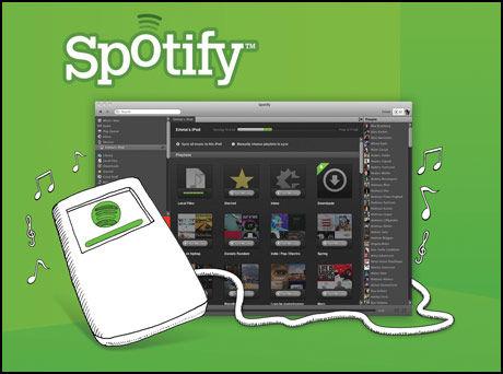 Spotify sier hei til iPod. (Foto: Spotify)