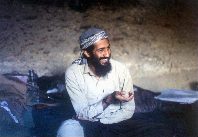 DREPT: Osama bin Laden ble skutt under aksjonen mot huset hans i Pakistan. Foto: AFP Foto: