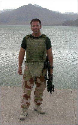 I AFGHANISTAN: Jørg Lian. Foto: FORSVARET