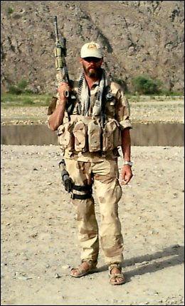 I FELT: Trond André Bolle i operasjon i Helmand. Sør-Afghanistan i 2005. Foto: MJK