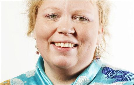SKUFFET: Vibeke Larsen i Sametingsrådet, som vil ha en direkte kanal til FN. Foto: SAMETINGET