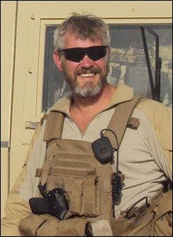 KRIGSHELT: Trond André Bolle fikk utdelt Krigskorset med sverd post mortem. Foto: privat