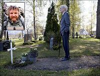 «Kjakan» på graven til Trond Bolle: - Han viste et enestående mot