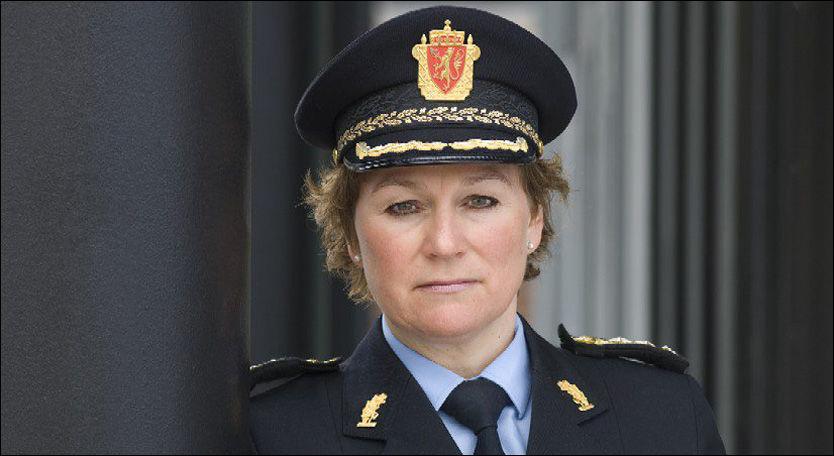 VIL BLI ØVERSTE SJEF: Politimester Christine Fossen søker stillingen som politidirektør etter å ha styrt Søndre Buskerud politidistrikt i åtte år. Foto: Politiet