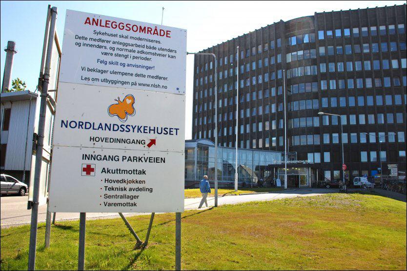 LOVBRUDD: Nordlandssykehuset HF har brutt loven i forbindelse med en rekke operasjoner, ifølge Statens helsetilsyn. Foto: