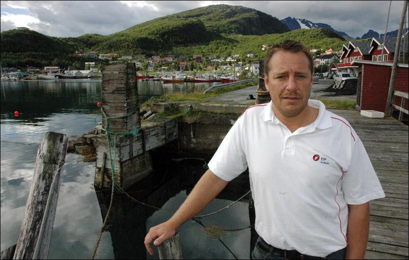 TILTALT: Frps ordførerkandidat i Skjervøy kommune, Jørn Cato Angell, i Troms er tiltalt for bedrageri og forfalskning. Nå blir han vraket som listetopp. Foto: Kjetil Nielsen Skog/Framtid i Nord