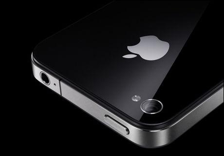BEDRE KAMERA: Mens iPhone 4 (bildet) har et kamera på 5 megapiksler, vil iPhone 5 bli utstyrt med et 8-megapiksel kamera. (Foto: Apple)