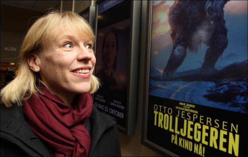 VIL BLOKKERE: Kulturminister Anniken Huitfeldt legger ut på høring et forslag nettsteder som i stort omfang sprer opphavsrettsbeskyttet materiale, skal kunne blokkeres. Foto: Trond Solberg