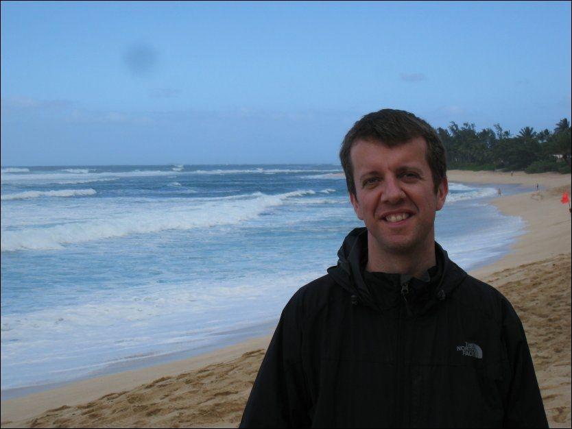 FORSVANT PÅ LØPETUR: Professor Are Hjørungnes ble borte på en løpetur på Hawaii forrige lørdag. Foto: PRIVAT / UNIK