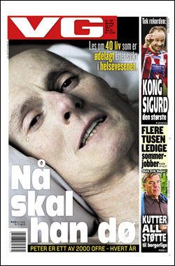 Les mer om dette temaet i dagens papirutgave av VG! Faksimile: VG 30. mai 2011.