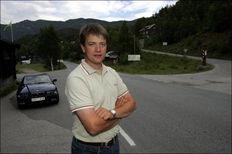 TRODDE VG NETT TULLET: Simen Bjørgen, Sp-ordfører i Lom i Oppland, trodde VG Nett tullet da vi fortalte ham om Stoltenbergs siste narko-forslag. Foto: Geir Olsen