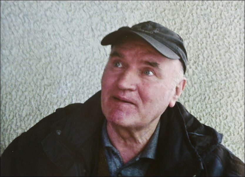 HAR ANKET: Tidligere general Ratko Mladic motsetter seg utlevering til krigsforbryterdomstolen i Haag. Foto: AP