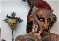 Voldsoffer ble «vampyr»