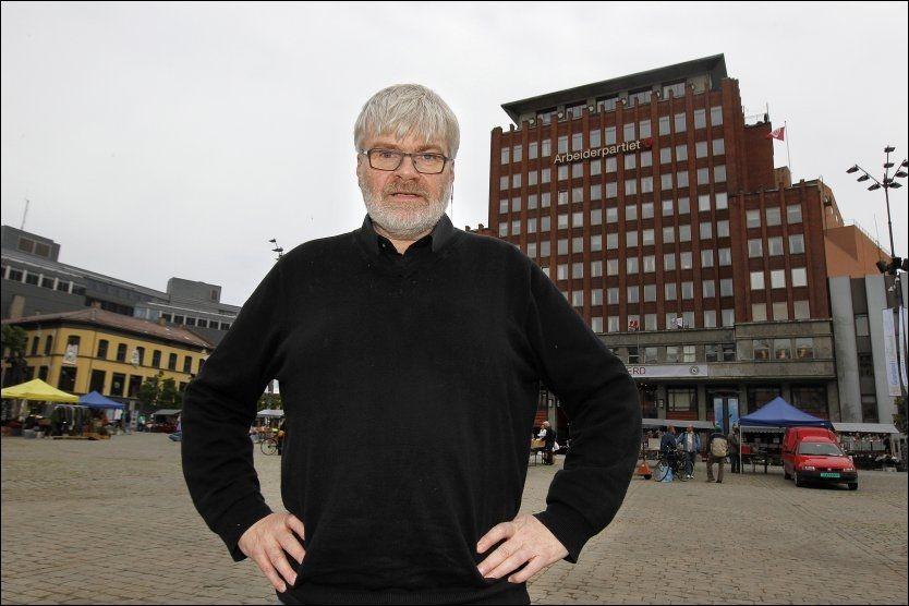 FOR STRENGE KRAV: - Vi må ikke sette oss mål som hindrer industriutvikling her i landet, sier Leif Sande, leder i LO-forbundet Industri Energi. Foto: Tromd Solberg/VG
