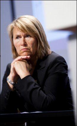 TIL KRISEMØTE: Forsvarsminister Grete Faremo (Ap). Foto: Scanpix