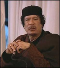 FORHATT DIKTATOR: Opprøret i Libya begynte etter at diktatoren Muammar al-Gaddafi styrte landet med jernhånd i 41 lange år. Foto: AP Foto: