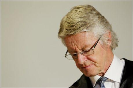 SKUFFET: Treholt-advokat Harald Stabell er skuffet over avgjørelsen til Gjenopptakelseskommisjonen. Bildet er tatt ved en tidligere anledning. Foto: Scanpix