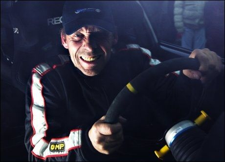 BILGAL: Rune Rudberg er en motorsportinteressert herremann. Foto: Richard Eriksen