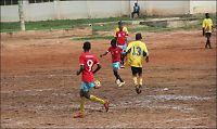 Denne sletta kalles fotball-akademi i Ghana