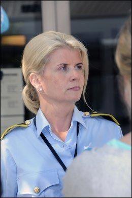 INGEN FARE: Ifølge Linn Hilde Fosso i Vestoppland politidistrikt var det ingen fare for de to jentene under aksjonen. Foto: Torbjørn Aurvåg/Scanpix