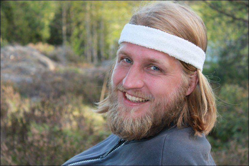 DET SISTE BILDET: Einar Opsahl elsket å være ute i naturen. Han konkurrerte i orientering og i vinter gikk han 170 mil på ski. Dette bildet ble tatt for seks uker siden. Foto: Privat