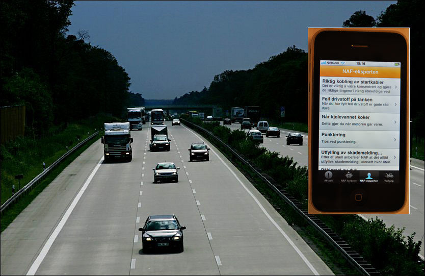 HØYE HASTIGHETER: På autobahn går det unna, da er det greit å vite at bilen er i god stand. Foto:GØRAN BOHLIN