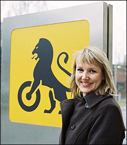 Kommunikasjonssjef i NAF Inger Elisabeth Sagedal Foto: NAF