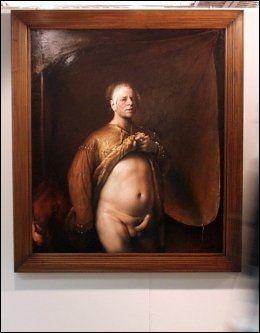 ORIGINALEN: Odd Nerdrums selvportrett fra 1998. Foto: MATS FOGEMAN