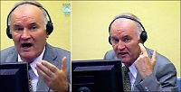Ropende Mladic kastet ut av rettssalen